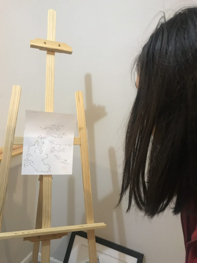 sonoma viewing the drawing