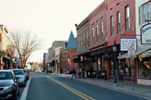Small Town USA Main Street